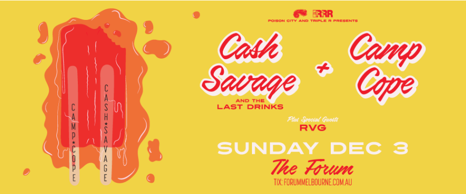 Cash Savage & The Last Drinks + Camp Cope