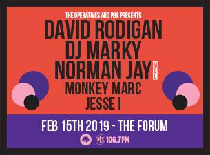 The Operatives presents David Rodigan, Norman Jay MBE, DJ Marky and more